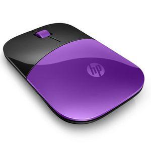 HP Z3700 Souris sans fil Violet