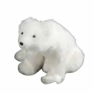 Ours blanc assis