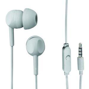 THOMSON EAR 3005 Ecouteurs stéréo intra-auriculaires avec microphone Gris