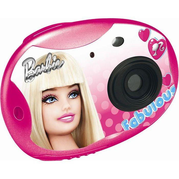 lexibook barbie appareil photo num rique achat vente appareil photo enfant cdiscount. Black Bedroom Furniture Sets. Home Design Ideas