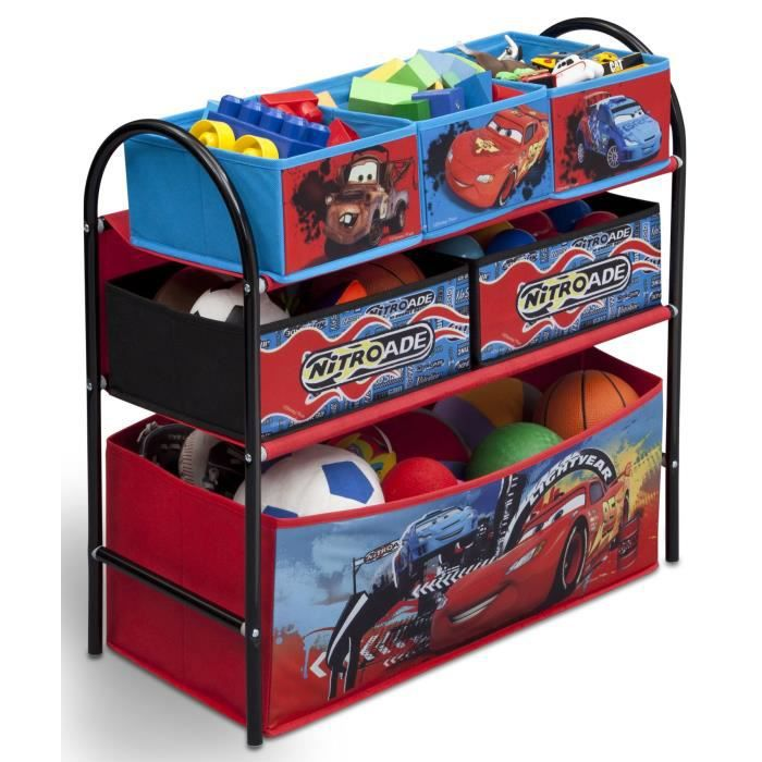 Cars meuble de rangement enfant jouets 6 bacs achat - Meuble de rangement jouet ...