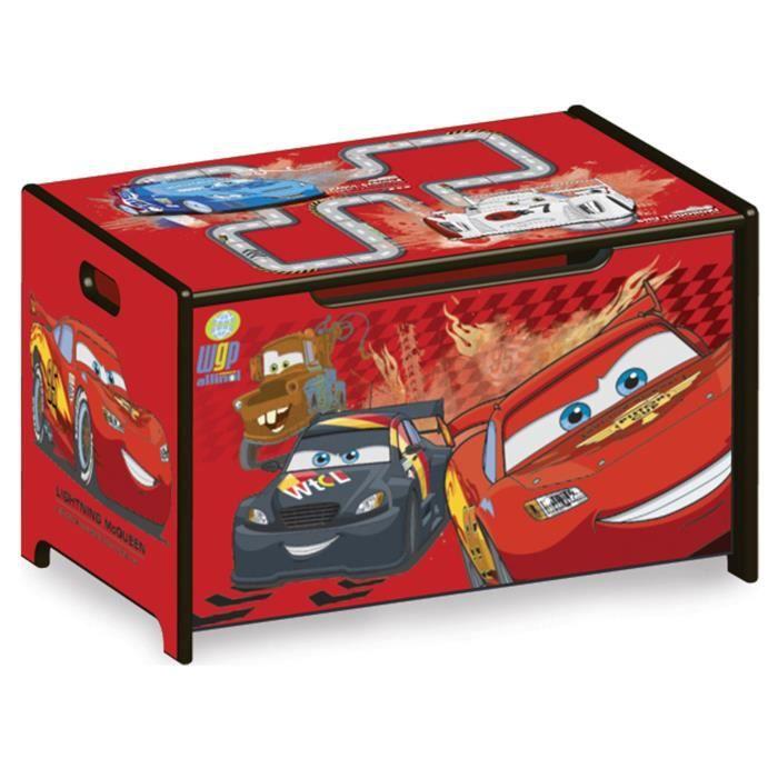 Delta children cars coffre jouets en bois achat vente coffre jouets cr coffre a jouets - Grand coffre a jouet cars ...