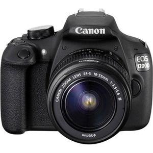 APPAREIL PHOTO RÉFLEX CANON EOS 1200D + objectif EF-S 18-55mm DC