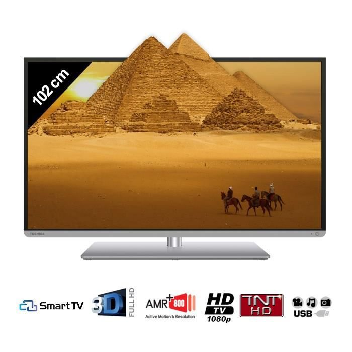 toshiba 40t5435dg smart tv 3d 102 cm t l viseur led prix pas cher cdiscount. Black Bedroom Furniture Sets. Home Design Ideas