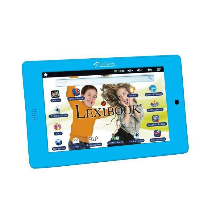Lexibook tablette tactile enfant master one 7 39 39 achat vente tablette enfant lexibook - Console de jeux lexibook ...