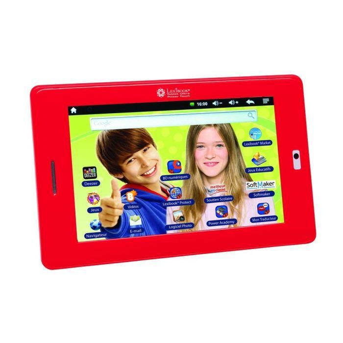 "TABLETTE ENFANT LEXIBOOK Tablette Enfant Ultra Power Touch 7"""