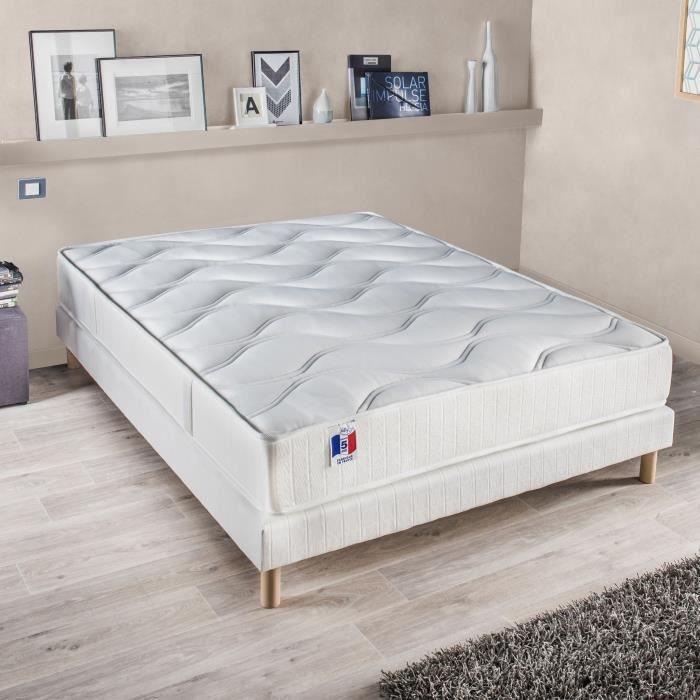 Confort design matelas gari 160x200 cm latex ferme 80 kg m3 2 personn - Matelas latex 160 x 200 ...
