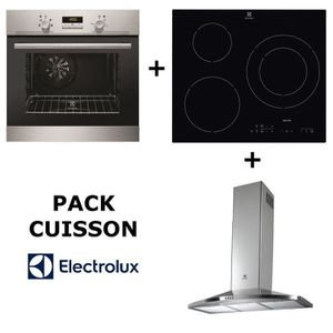 LOT APPAREIL CUISSON ELECTROLUX Pack cuisson : Four multifonction pyrol
