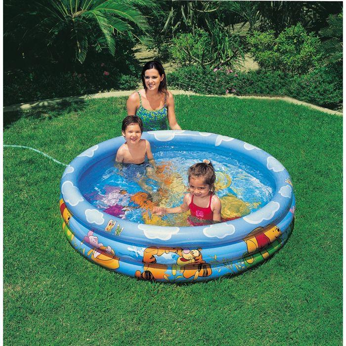 maison jardin plein air piscine gonflable winnie l ourson f  np