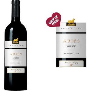 VIN ROUGE Ariès Argentine Mendoza 2015 - Vin rouge x1