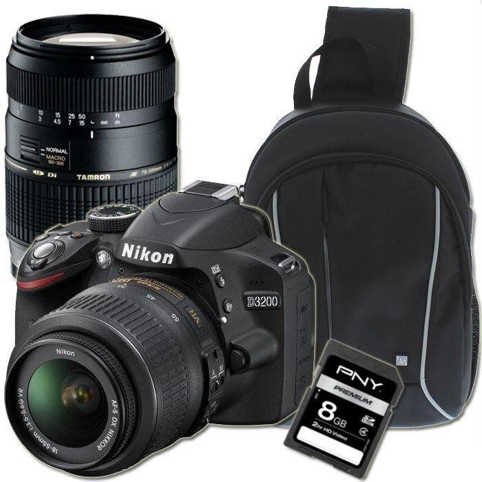 Nikon d3200 18 105 70 300 sac dos sd 8 go achat - Appareil photo nikon d3200 pas cher ...