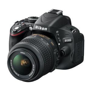 NIKON D5100 + 18-55 + 70-300 +Sac à dos + SD 8 Go