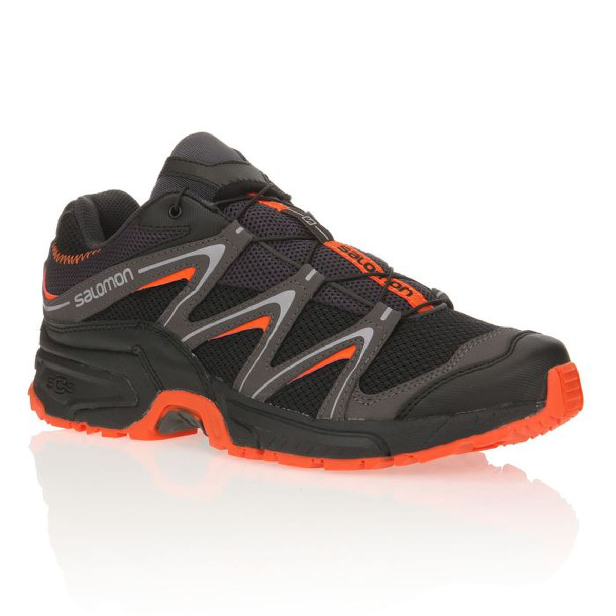 salomon chaussures trail running volcano homme prix pas cher cdiscount. Black Bedroom Furniture Sets. Home Design Ideas