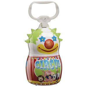 FERPLAST Dudu' People Clown Support pour sachets hygiéniques en plastique 5,5x9cm - Vert, rouge et blanc - Pour chien