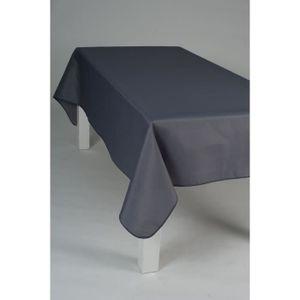nappe sans repassage achat vente nappe sans repassage pas cher cdiscount. Black Bedroom Furniture Sets. Home Design Ideas