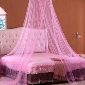 ciel de lit rose achat vente ciel de lit rose pas cher. Black Bedroom Furniture Sets. Home Design Ideas