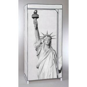 PENDERIE SOUPLE Penderie souple NEW YORK Statue de la liberté 160x