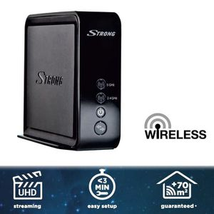 CLE WIFI - 3G STRONG EXTENDER 1600 Relai WLAN AirPlay et NAS