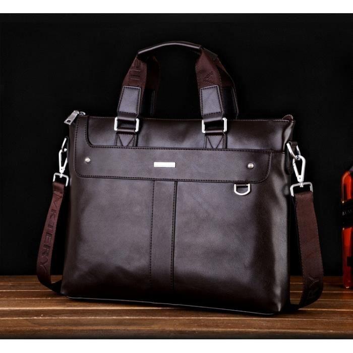 Sac sacoche homme luxe porte document ordinateur achat vente serviette attach case sac - Sacoche porte document homme ...