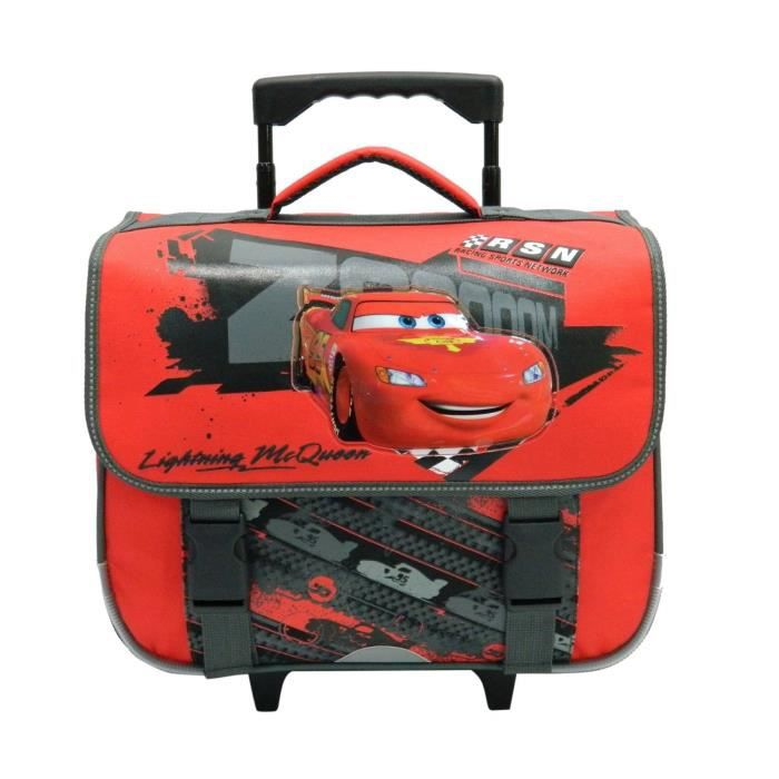 cars disney cartable a roulettes trolley enfant gar on achat vente cartable 2009928059600. Black Bedroom Furniture Sets. Home Design Ideas