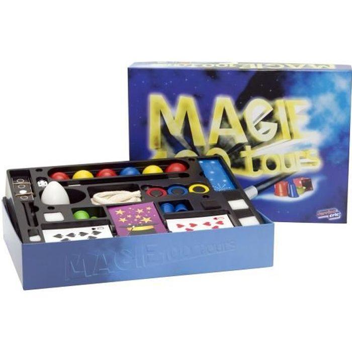 coffret magie 100 tours achat vente jeu magie cdiscount. Black Bedroom Furniture Sets. Home Design Ideas