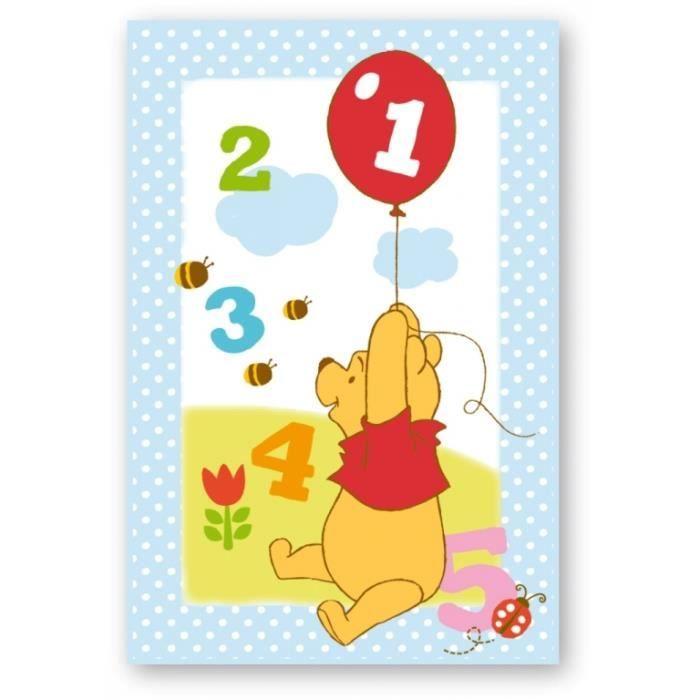 Tapis Ludique Winnie 80x120 cm - Achat / Vente tapis de jeu Tapis ...