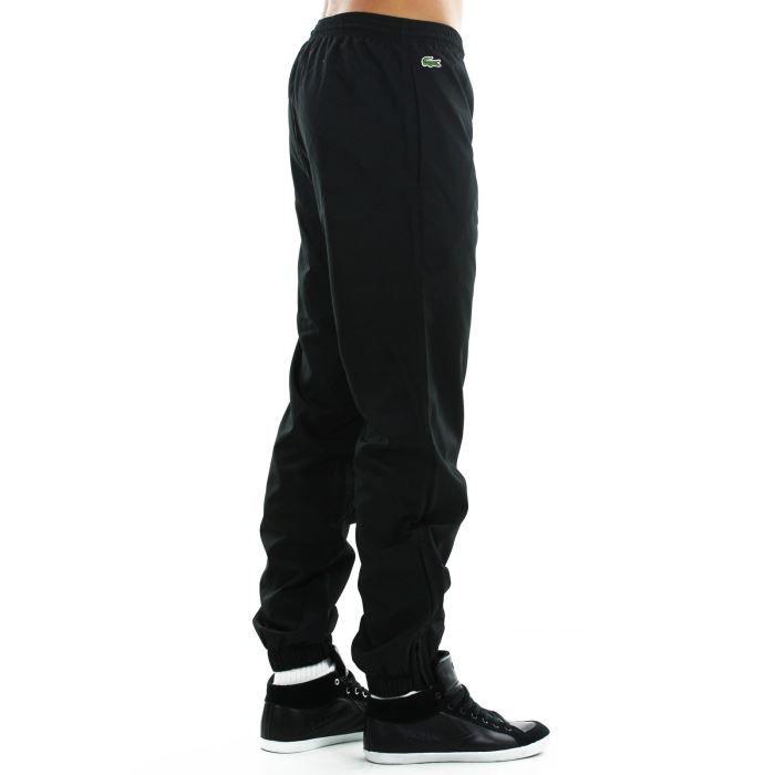 pantalon homme lacoste xh120t 031 t2 noir achat vente pantalon pantalon homme lacoste xh12. Black Bedroom Furniture Sets. Home Design Ideas