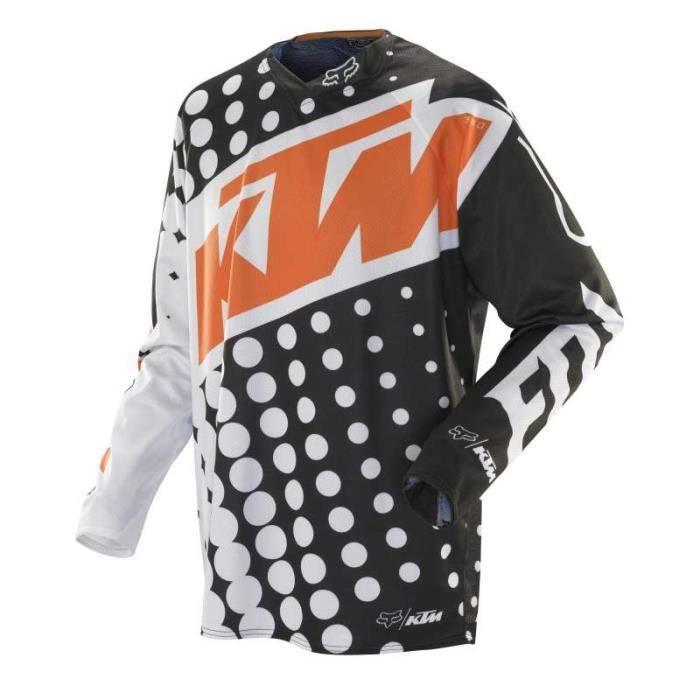 Maillot moto cross Fox 360 KTM 2014 Haut de gamme de chez Fox, le
