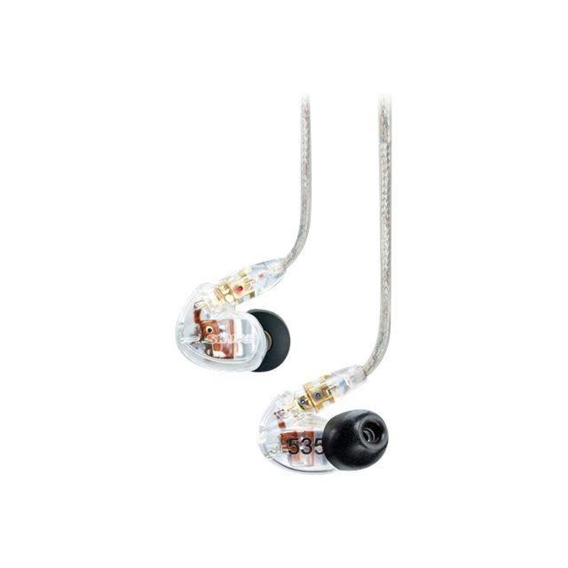 couteurs intra auriculaires transparent shure s casque couteur audio avis et prix pas. Black Bedroom Furniture Sets. Home Design Ideas