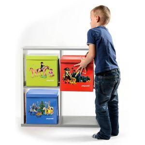 rangement playmobil achat vente jeux et jouets pas chers. Black Bedroom Furniture Sets. Home Design Ideas