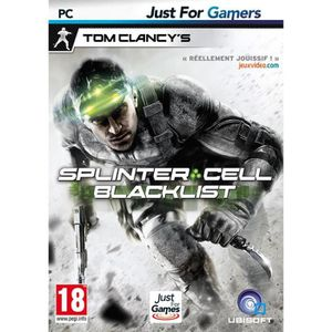 JEU PC Splinter Cell BlackList Jeu PC