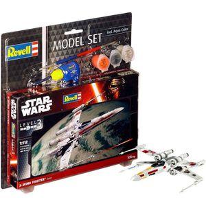 STAR WARS Model Set X-wing Fighter Maquette ? Construire, ? Coller et ? Peindre, Avec Accessoires