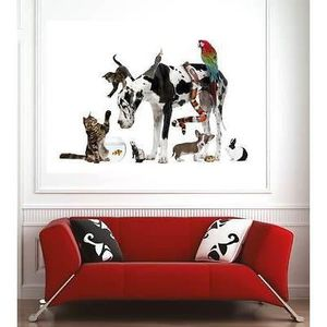 poster mural animaux de la achat vente poster mural animaux de la pas cher cdiscount. Black Bedroom Furniture Sets. Home Design Ideas