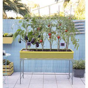 table de jardin 120x80 achat vente table de jardin. Black Bedroom Furniture Sets. Home Design Ideas