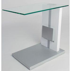bout de canape design achat vente bout de canape design pas cher cdiscount. Black Bedroom Furniture Sets. Home Design Ideas