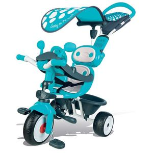 TRICYCLE SMOBY Tricycle Baby Driver Confort Bleu