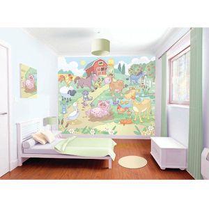 papier peint ferme achat vente papier peint ferme pas cher les soldes sur cdiscount. Black Bedroom Furniture Sets. Home Design Ideas
