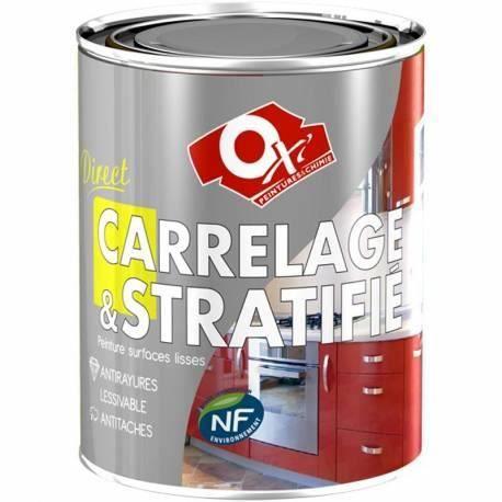 Resine couleur carrelage et meuble 500 ml e achat for Peinture resine pour meuble vernis