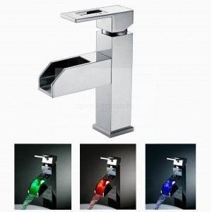 Mitigeur salle de bains led lumineux ms05a achat vente robinetterie mitig - Robinet led salle de bain ...