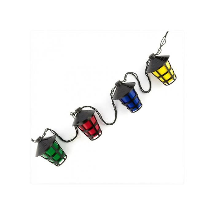 guirlande lanternes bal musette achat vente guirlande d 39 exterieure guirlande lanternes bal. Black Bedroom Furniture Sets. Home Design Ideas