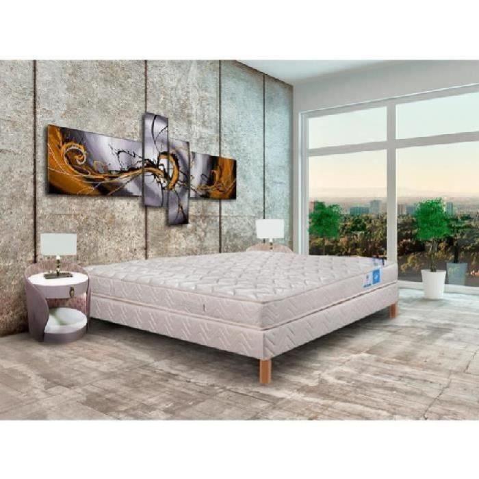 ensemble 160x200cm 100 latex alix dos sensibles. Black Bedroom Furniture Sets. Home Design Ideas