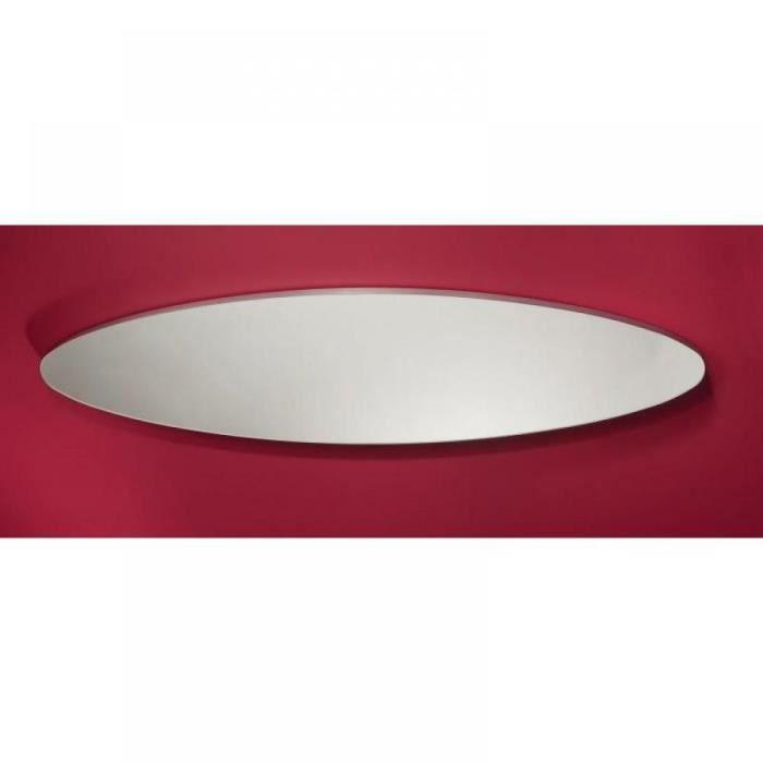 Surf miroir mural design en verre grand mod le achat vente miroir carton verre cadeaux de for Miroir horizontal mural