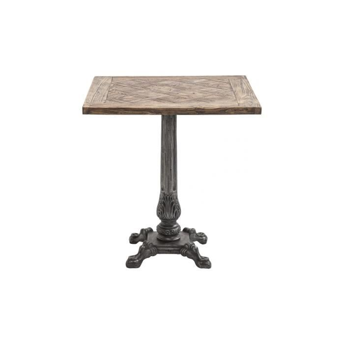 Table manor house 70x70 cm kare design achat vente for Table 70x70 design