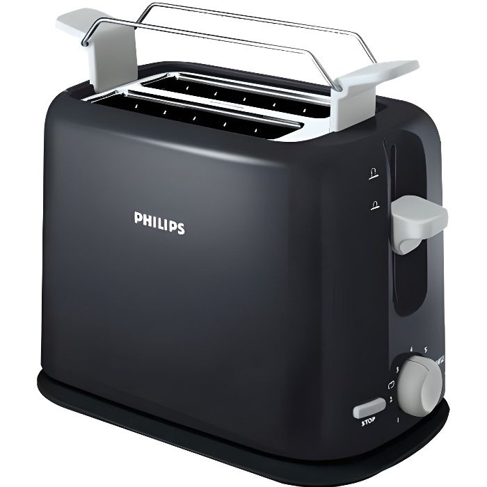 philips hd2595 00 achat vente grille pain toaster. Black Bedroom Furniture Sets. Home Design Ideas
