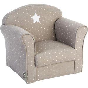 fauteuil enfant taupe achat vente fauteuil enfant. Black Bedroom Furniture Sets. Home Design Ideas