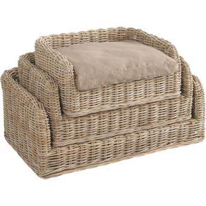 panier a chat gris achat vente panier a chat gris pas cher cdiscount. Black Bedroom Furniture Sets. Home Design Ideas