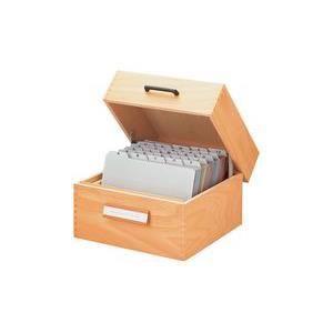 boite a fiche en bois achat vente boite a fiche en bois pas cher cdiscount. Black Bedroom Furniture Sets. Home Design Ideas