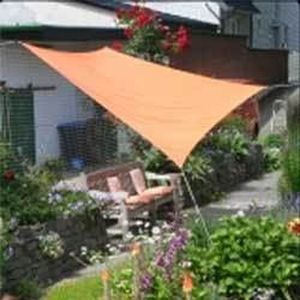 Voile d ombrage carree 3.60 x 3.60 m