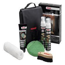 kit complet d entretien et nettoyage du cuir achat vente nettoyant int rieur kit complet d. Black Bedroom Furniture Sets. Home Design Ideas
