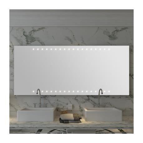 Miroir De Salle De Bain Avec Clairage Led 140 Achat